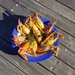 gites-guadeloupe-bungalow-table-dhotes-fruits-de-mer-Colombo-ouassous